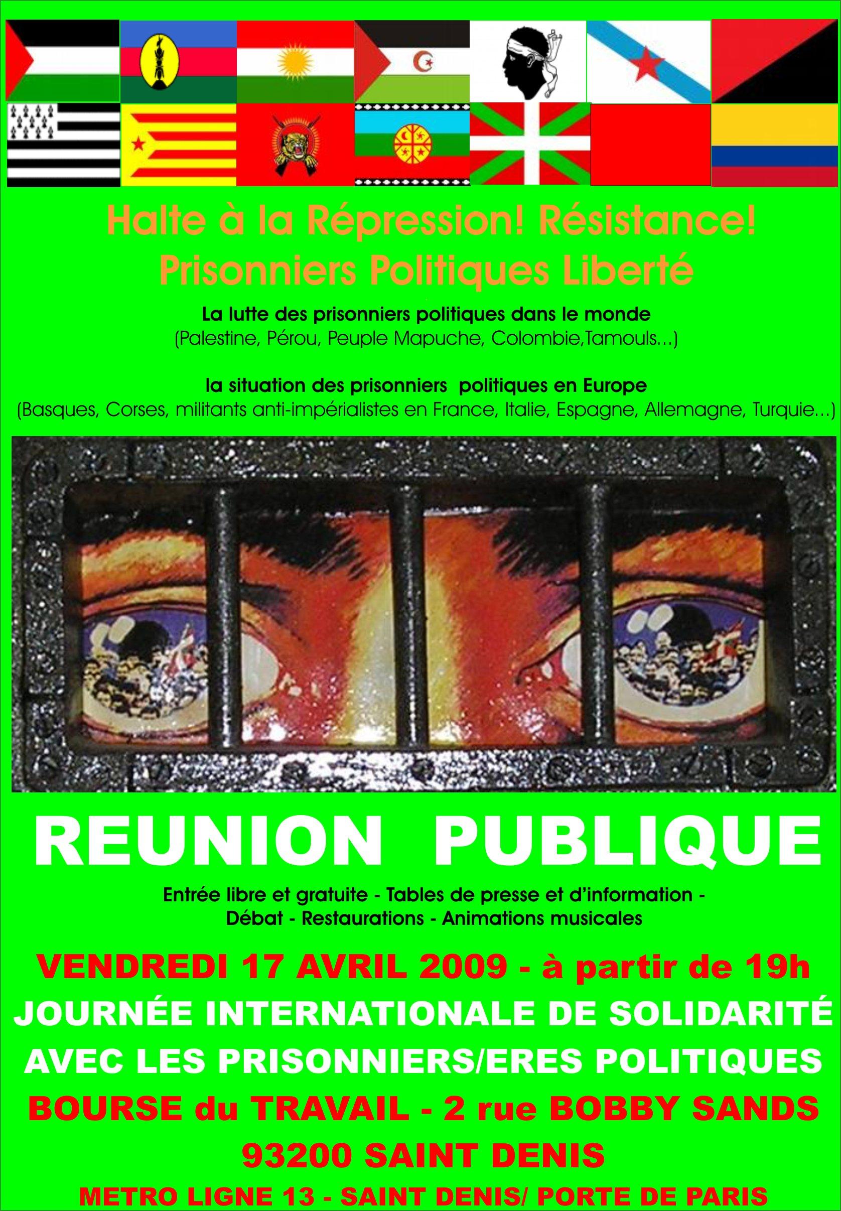e1f1752efc29a3 Comité de solidarité avec le peuple basque – Paris » 17 avril 2009   ...