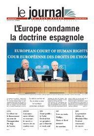 La CEDH condamne fermement Madrid et ordonne la libération d'Ines Del Rio dans Politique portada_irudia11
