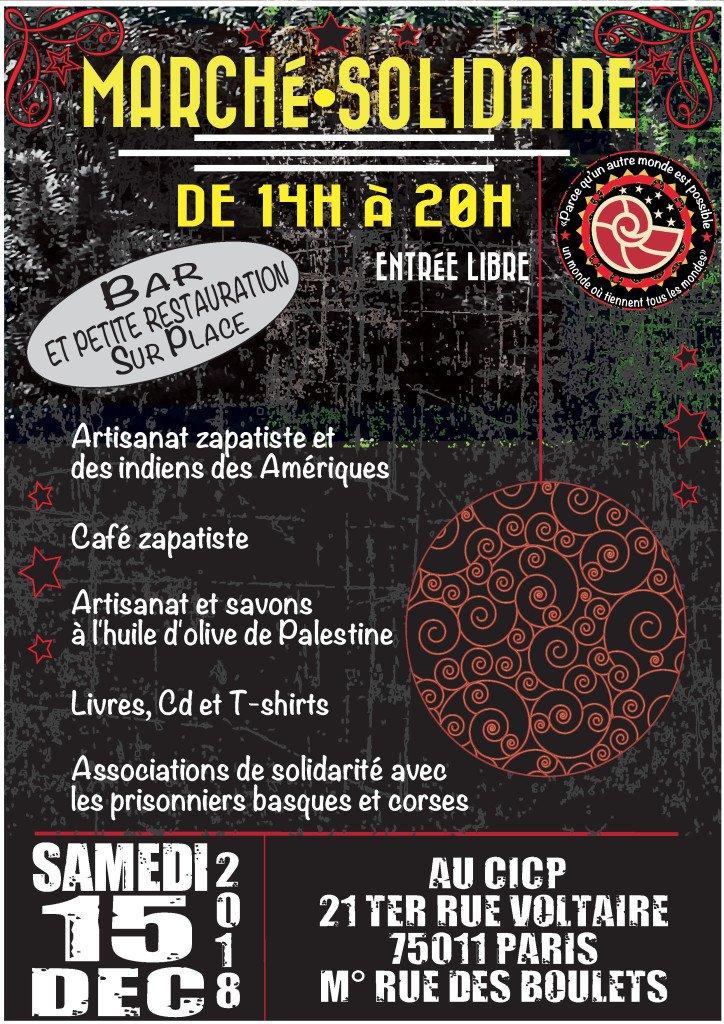 Marché Solidaire 15 decembre